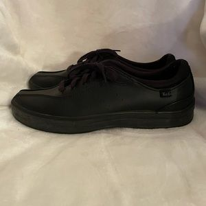 Keds Champion Black Leeather Sneakers